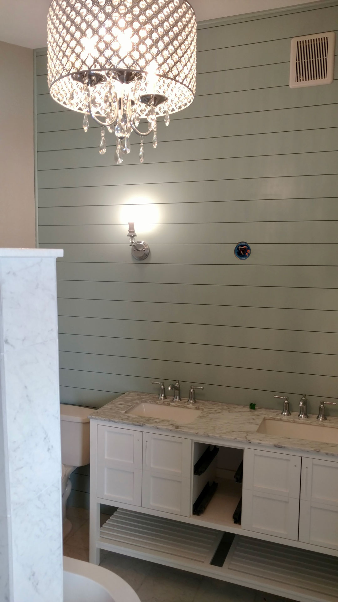 Cocoa FL bathroom sink remodel