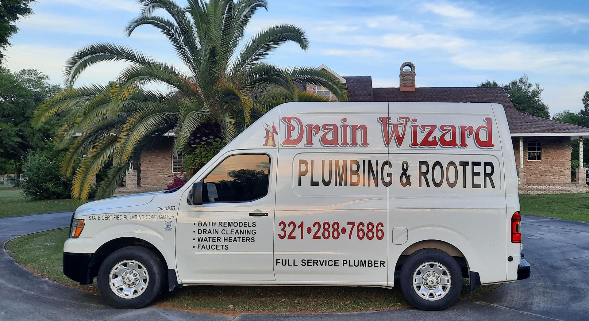 Cocoa FL Plumbing Service Van