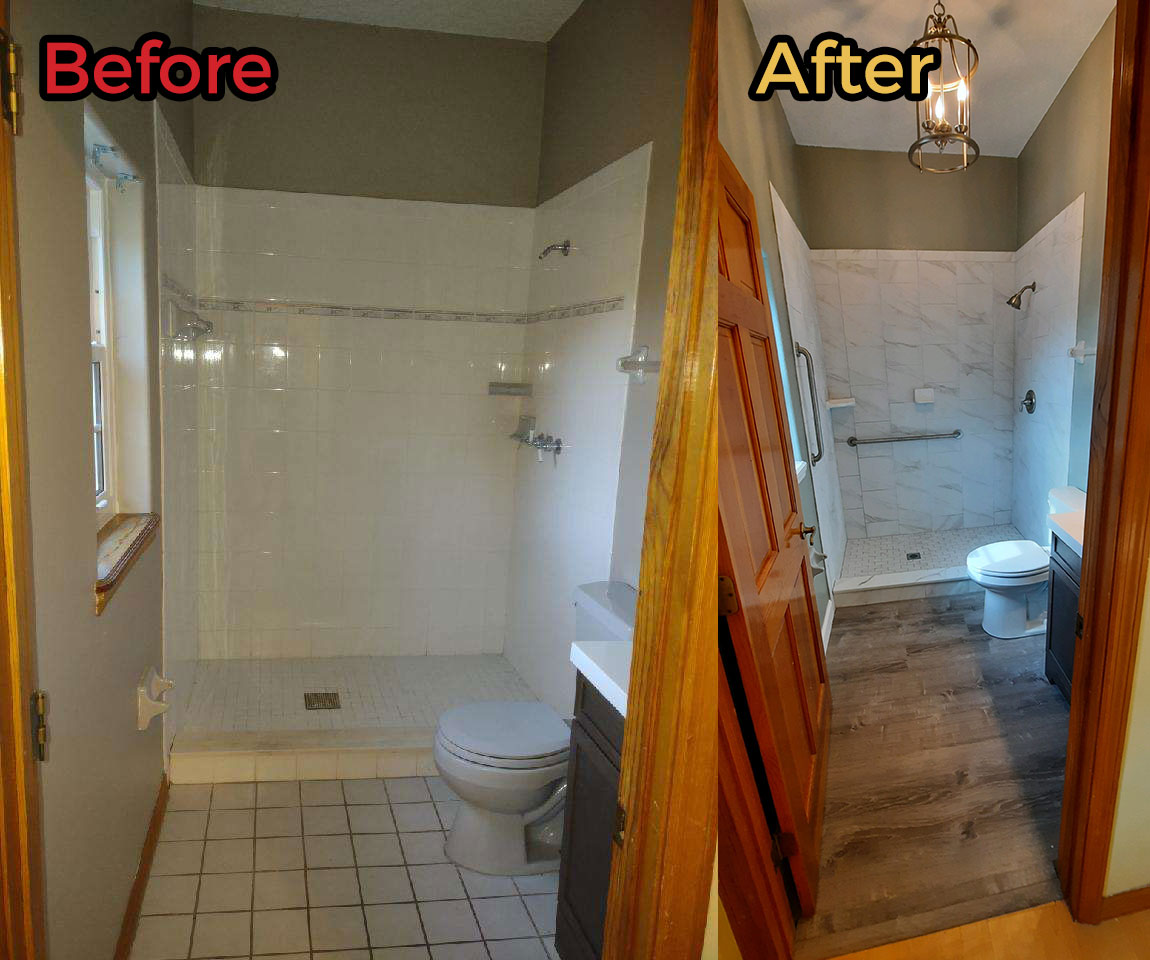 Plumbers Cocoa Beach before and after